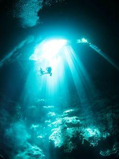 Cenote Angelita — Tulum, Mexico