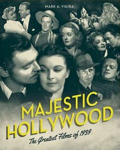 Majestic hollywood cover. There's nothing like an old movie!....A time of Hollywood past when movies were of quality with a plot you could understand. I'm so glad my mom introduced me to these wonderful movies.