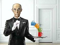 "Saatchi Art Artist Jean-Marie GITARD Mr Strange; Painting, ""MR WOOD"" #art"