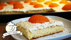 Spiegeleikuchen - Thermomix® - Rezept von Vanys Küche Cheesecake, Desserts, Food, Easter Pie, Apricot Recipes, Amazing Cakes, Dessert Ideas, Thermomix, Tailgate Desserts