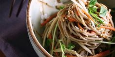 Longevity noodles are often served during Chinese New Year because the dish symbolizes long life. That's a good reason to eat it more often! Get the recipe.