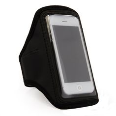 Black SumacLife Workouts Running Sports Armband Pouch Case for Apple iphone 6 4.7'' inch / iphone 5s / Samsung Galaxy S4 /S5 / Nokia Lumia / LG G2. Made of mesh and neoprene material, keeps your phone safe when you are exercising. Full screen protector allows full touch screen functionality. Provide excellent protection during sport, such as running, cycling,biking, jogging, walking, working out etc. Great for working out, jogging, outdoor activities. Adjustable Velcro Strap.