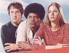 The Mod Squad (1968-1973) - Cast and history: http://www.imdb.com/title/tt0062589/  Theme music: http://www.youtube.com/watch?v=A3izQxA3hGk