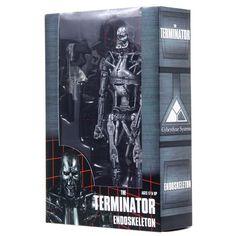 """NECA Terminator T-800 - Endoskeleton Classic 7"""" Inch Figure ☺"""