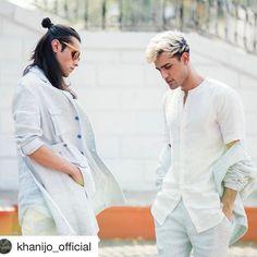 Boris @toabhmanagement for @khanijo_official #Repost @khanijo_official with @repostapp  SUMMER SOJOURN   KHANIJO SS17  CAMPAIGN . Modeled by @irak_boom & Boris Linnebank Styled by @choti_mia & @khanijo Shot by @parizad_d  HMU by @eshwarlog . #Khanijo #KhanijoMen #SummerSojourn #SS17 #Campaign #Menswear #Summer #Luxury #Linen #Layering #MensFashion #Fashion #India #Paris #London #NewYork #Milan #Tokyo #MakeInIndia