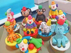 Cupcakes Circo 3D