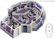 Star Trek - USS Defiant Bridge