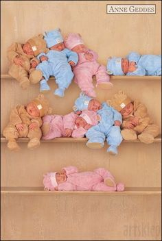 This would be so cute with a newborn and lots of stuffed animals!