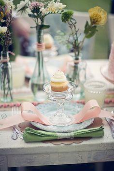 Lindos cupcakes para la boda! :)
