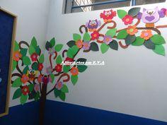 decoração de escola corujas - Pesquisa Google