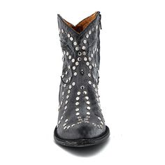 "Browsing Store - Old Gringo 7"" Ursula Black Boot"