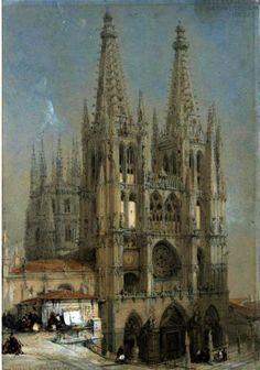 "Catedral de Burgos, España"", dibujo de <b>David Roberts</b> (<b>1796-1864</b> <b>...</b> es.wahooart.com456 × 650Buscar por imagen Catedral de Burgos, España"", dibujo de <b>David Roberts</b> (<b>1796-1864</b> <b>...</b> David Roberts (1796-1864) PINTOR - Buscar con Google"
