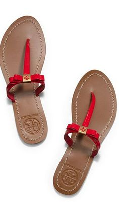 Tory Burch bow flats