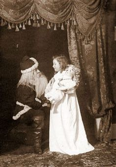 Edwardian Santa, 1909
