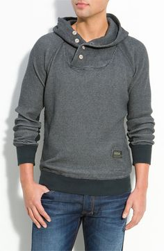 I wonder if I could get him to wear something like this. Diesel Pullover Hoodie