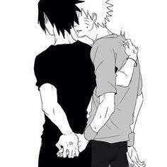 Sasuke and Naruto #sasunaru #narusasu