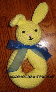 Baby's first bunny - free pattern