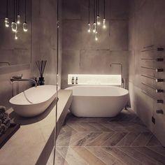 37 Interesting Spa Like Bathroom Designs - Bath - Bathroom Decor Spa Like Bathroom, Small Bathroom Storage, Bathroom Layout, Modern Bathroom Design, Bathroom Interior Design, Bathroom Styling, Bathroom Ideas, Bathroom Designs, Simple Bathroom