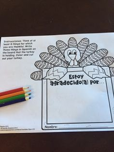 FREE Thanksgiving activity for Spanish teachers and a blog hop with tips, activities, and giveaways!