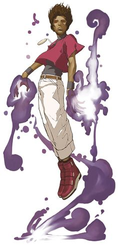 Orochi Chris - The King of Fighters 2002