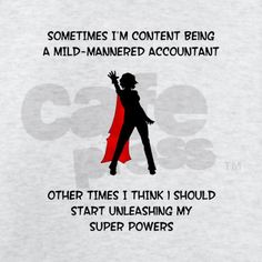 accountant with super powers