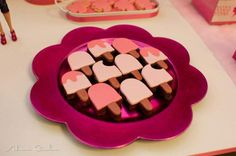 Barbie Themed Ice Cream Party via Kara's Party Ideas - www.KarasPartyIdeas.com