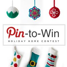 Enter our Pin-to-Win Holiday Home Contest! The Holidays are just around the corner, and it's time to starting decking your halls – so we want to see your dream Holiday home!  Contest ends October 25, 2015
