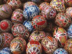 Slovak Easter Eggs | slovak painted easter egg by