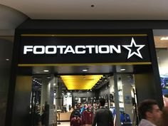 Canada is now home to Footaction's first international location, which is  unique in how it features several branded shop-in-stores.