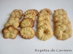 rezetas de carmen: Pastas o galletas con pistola