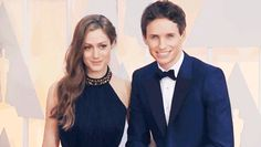 Addicted to Eddie: Eddie at The Oscars - on the red carpet with Hannah - pictures, videos