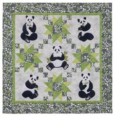 Gorgeous designs for quilts for babies! Lots of animals to applique and blocks arranged in unique designs. Loving it! Martingale - Animal Parade 2