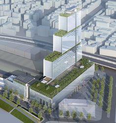 Symbio2 : La France se lance dans la conception de façades écologique en micro-algues avec l'agence d'architecture X-TU et le Gepea