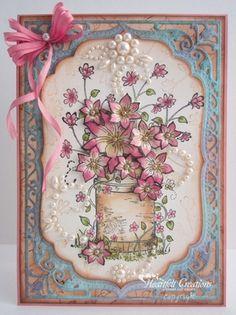 Pink Barrel of Flowers