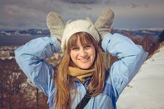 Copyright © Noelia Saiz (neyoka) - All rights reserved.............Trondheim, Norway, retrato, portrait, selfie, nieve, snow