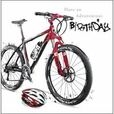Image result for mountain bike happy birthday
