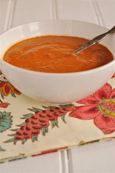 Homemade Tomato Soup (uses canned tomatoes).