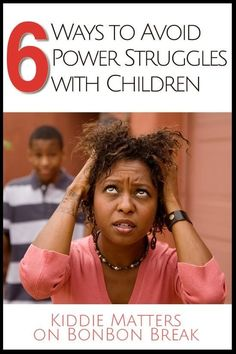 6 ways to avoid power struggles with children - excellent parenting tips to keep parents sane. What would you add to the list?