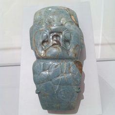 Olmec votive axe - Classic tribal fixation on the Jaguar man.