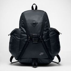Nike Cheyenne Responder Backpack Sports Travel Laptop Black/Grey BA5236-010