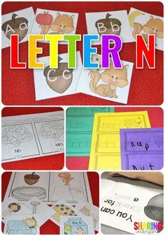 Letter N Acitvities