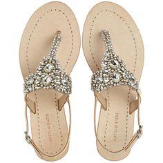 Antik Batik Mila Rhinestone Thong Sandal ($275) ❤ liked on Polyvore featuring shoes, sandals, flats, nude, rhinestone sandals, rhinestone thong sandals, toe post sandals, nude flat shoes and flat pumps