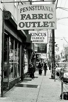 Philadelphia's Fabric Row