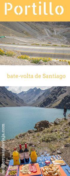 Ao fim de uma das estradas mais sinuosas do mundo, um lago entre os Andes. Vem comigo ver como é este bate-volta de Santiago do Chile. Santa Lucia, Machu Picchu, Trekking, Visit Chile, South America Travel, Travel Advice, Where To Go, Places To See, Disneyland