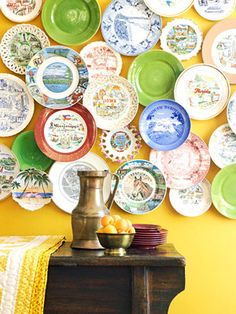 souvenir plate collection