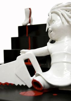 Amazingly Disturbing Porcelain Figurines By Maria Rubinke Maria - Amazingly disturbing porcelain figurines by maria rubinke