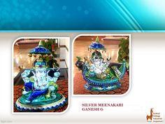 Product Of The Day- Silver Meenakari Ganesh G . . . . #CentralCottageIndustriesEmporium #Ministryoftextiles #govtofinia #janpath #jawaharvyaparbhawan  #ganesh