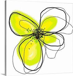 Yellow Petals -- simple -but fabulous splash of color!
