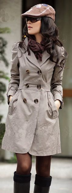 Trench Coat in Every Classy and Trendy Style New York Fashion, Love Fashion, Womens Fashion, Fashion Trends, Cool Coats, Long Trench Coat, Fashion Essentials, Winter Coat, Passion For Fashion