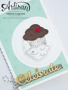 A rotative card with sprinkles of lifef - Hélène LEGRAND - Stamp 2 LiNotte